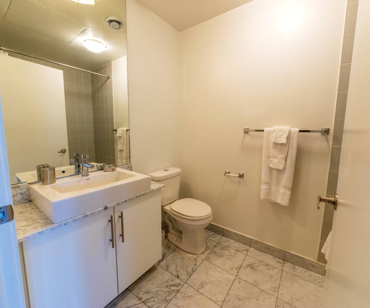Suite for Rent at Maple Leaf Square Downtown Toronto, Bathroom
