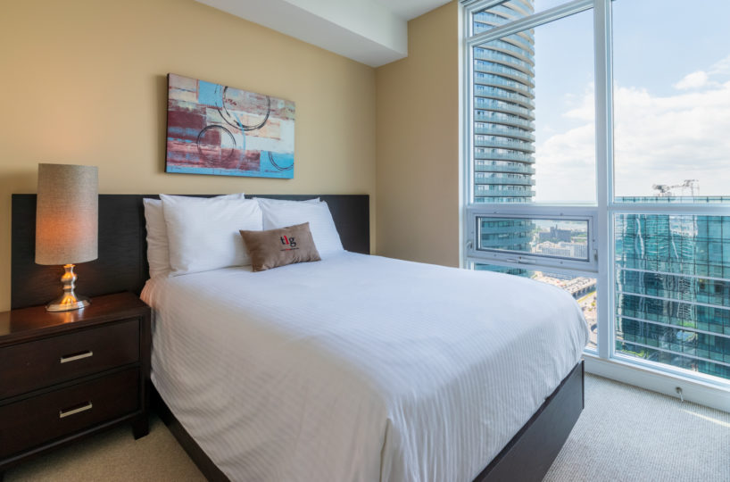 Rental at Maple Leaf Square Downtown Toronto Second Bedroom