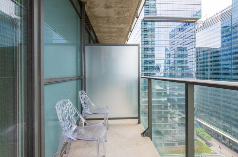 Suite for Rent at Maple Leaf Square Downtown Toronto, Balcony