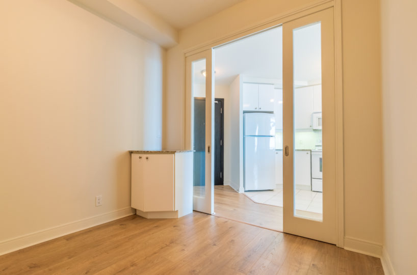 Best Mississauga Suite for Rent at 90 Absolute Downtown Inside Den Laminated Floor