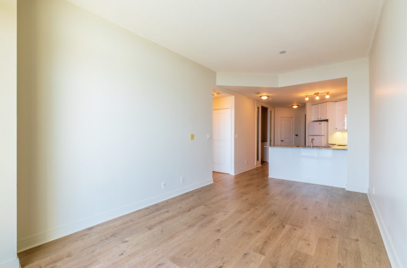 Affordable Mississauga Condo for Rent at 90 Absolute Laminated Floor Kitchen