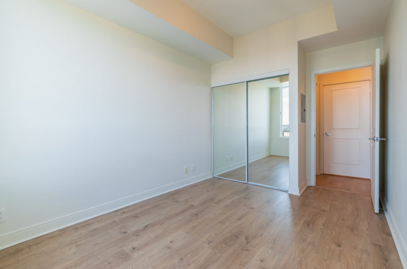 Best Mississauga Suite for Rent at 90 Absolute Downtown Master Bedroom
