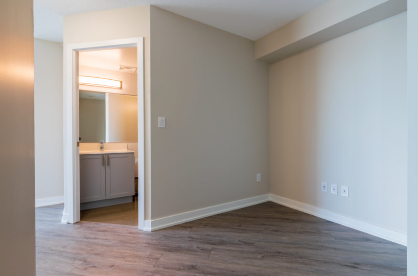 Affordable Rental Condo at The Palm, Downtown Toronto. Dent, Washroom Door