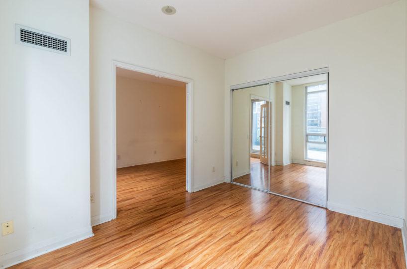 Affordable suite at Elev'n Residences. Rental at Toronto, Ontario. Master Bedroom