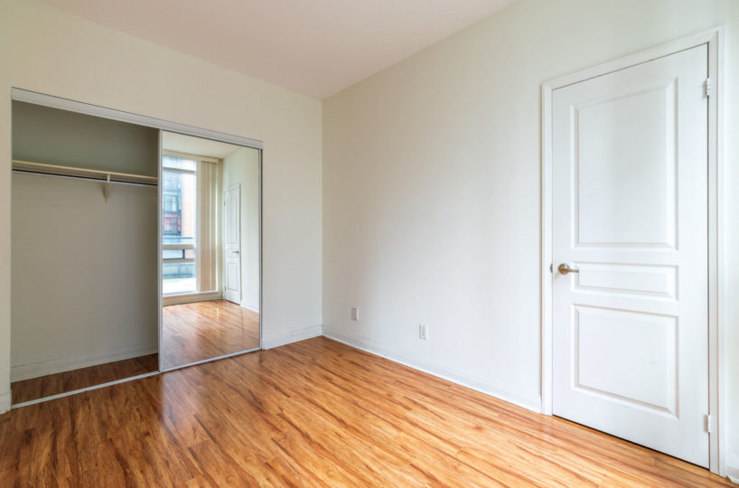 Apartment for Rent at Elev'n Residences. Toronto, Ontario. Master Bedroom