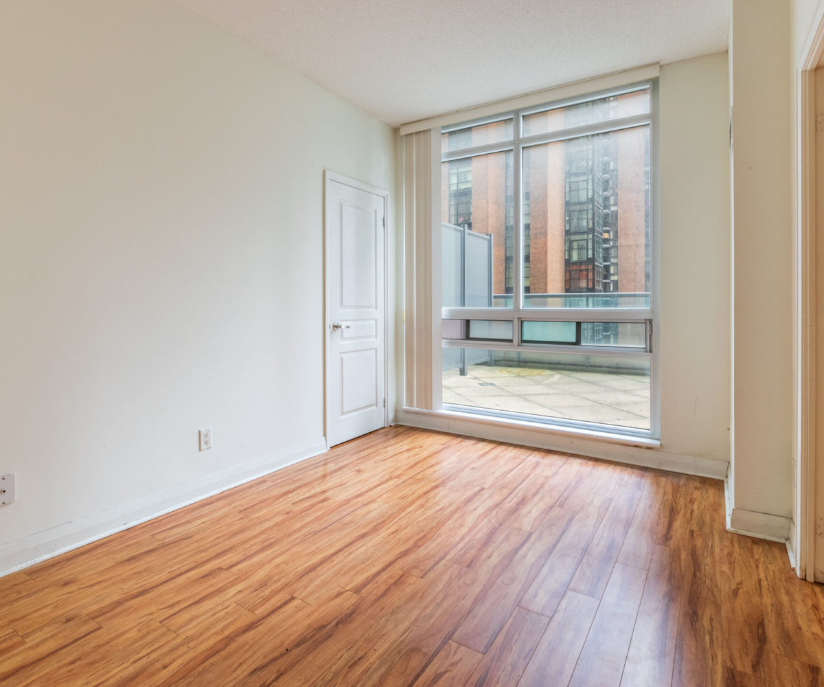 Suite for Rent at Elev'n Residences. Toronto, Ontario. Master Bedroom
